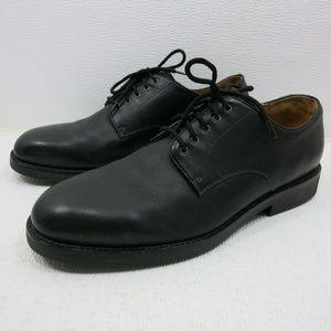 Polo Ralph Lauren Black Leather Dress Oxfords 13 D